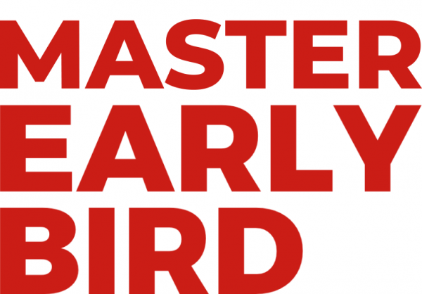 banner early bird red master