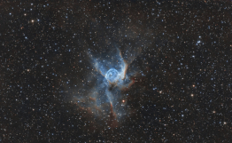 <p>Autore: Fornaciari Luca<br> Titolo: Nebulosa Elmo di Thor<br> Anno: 2016<br> Tipo di immagine: photography made with DSLR camera, reflector telescope and equatorial mount<br> Dimensioni: 40x24cm</p>
