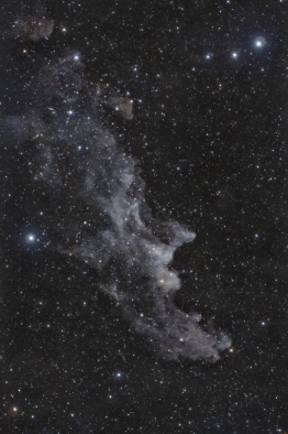 <p>Autore: Fornaciari Luca<br> Titolo: Nebulosa testa di strega<br> Anno: 2016<br> Tipo di immagine: photography made with refractor telescope, DSLR camera and equatorial mount<br> Dimensioni: 42x28cm</p>
